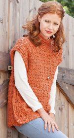 pulover transformer 150x280 - Вязаный пуловер крючком для женщин схемы и описание