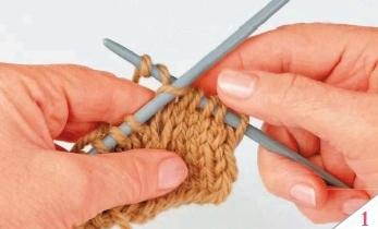 dlinnaja snjataja petlja - Виды петель для вязания спицами