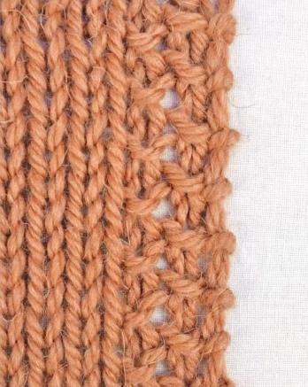 Кромка платочной вязкой