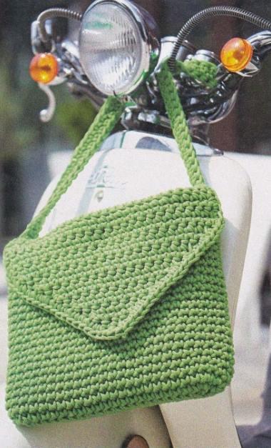 Описание вязания сумки крючком
