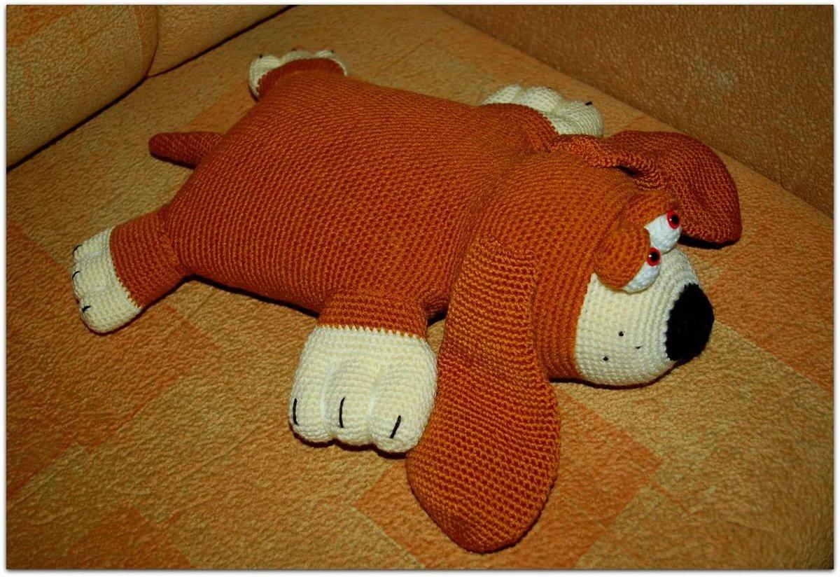 Подушка крючком - вязание крючком подушки
