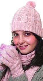 prostyie perchatki s shirokoy kosoy po tsentru 150x280 - Вязаные перчатки спицами