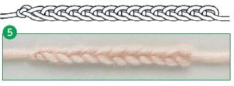 provjazyvanie vozdushnoj cepochki 5 - Виды петель для вязания крючком