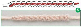 provjazyvanie vozdushnoj cepochki 6 - Виды петель для вязания крючком