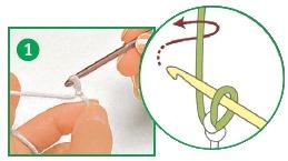 provjazyvanie vozdushnoj cepochki - Виды петель для вязания крючком