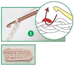 sposoby provjazyvanija petel cepochki 1 - Виды петель для вязания крючком
