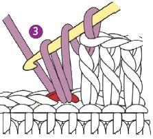 stolbik s nakidom 3 - Виды петель для вязания крючком