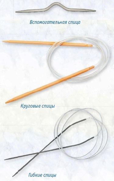 vidyi spits dlya vyazaniya 1 - Виды спиц для вязания