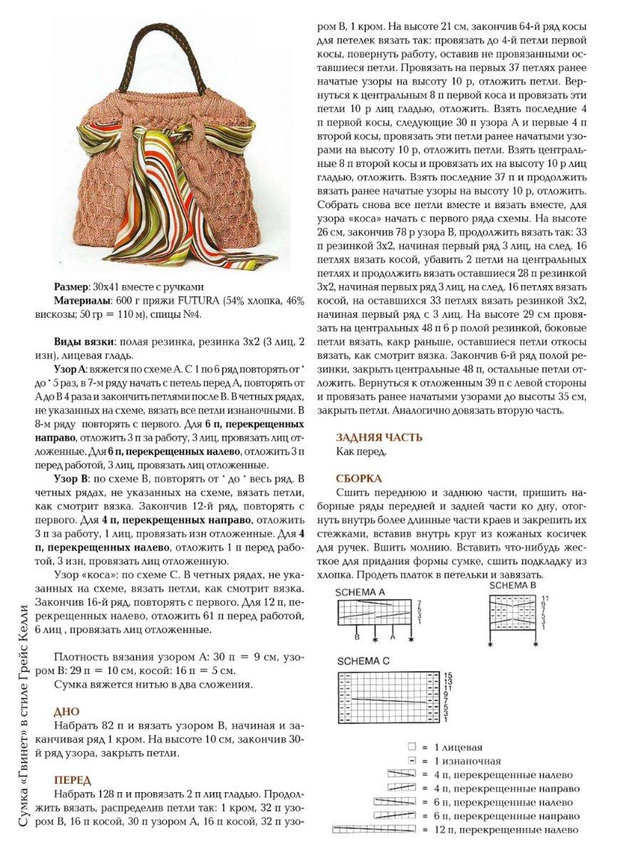 Сумочка крючком схемы и описание фото