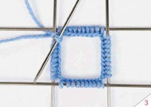 Вязание чулочными спицами 3