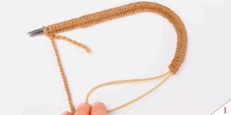 Вязание круговыми спицами