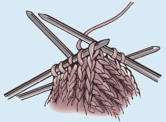 vjazanye teplye varezhki spicami vypolnenie myska - Вязаные теплые варежки спицами