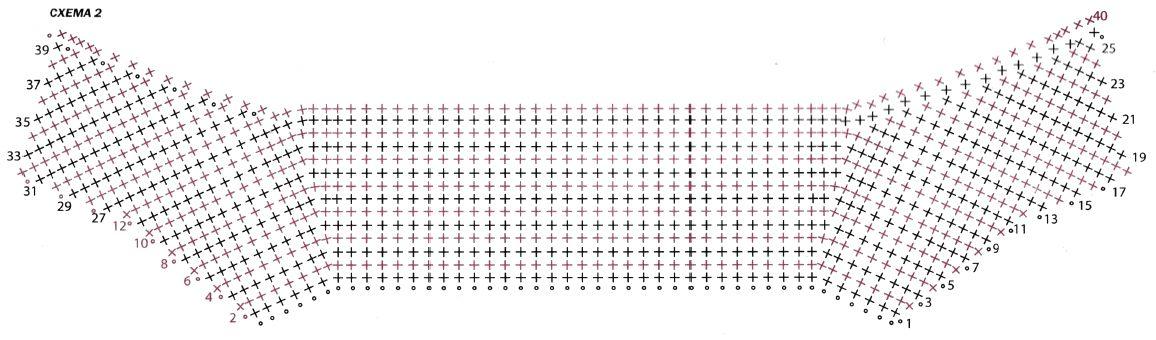 Вязаное летнее пальто крючком схема 2