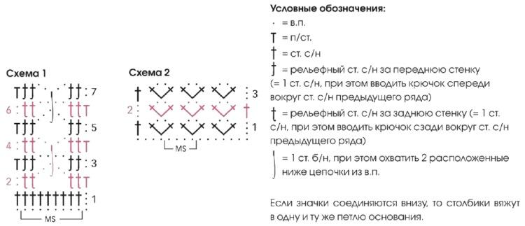 vyazanyiy melanzhevyiy pulover kryuchkom shemy - Вязаный пуловер из меланжевой пряжи крючком