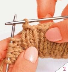 Закрытие петель резинки 2 х 2 без использования иглы 2