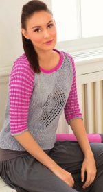 vyazanyj spicami pulover s rukavami reglan 150x280 - Вязаный пуловер реглан спицами женский