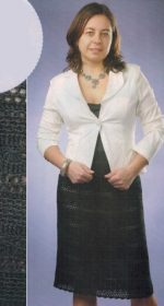 vyazanaya chernaya yubka kryuchkom 150x280 - Вязаная юбка крючком схемы и описание для женщин