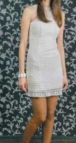 vyazanoe mini plate kryuchkom 150x280 - Вязаные платья крючком