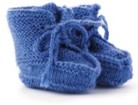 vyazanye pinetki bashmachki spicami 1 - Вязаные пинетки спицами для новорожденных схемы и описание