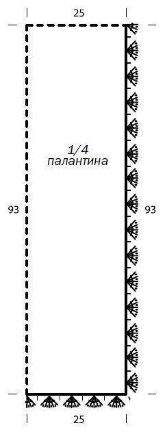 Вязаный ажурный палантин крючком выкройка