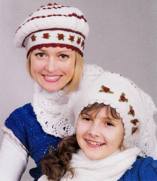 kak svyazat shapku kryuchkom - Вязаная шапка крючком женская