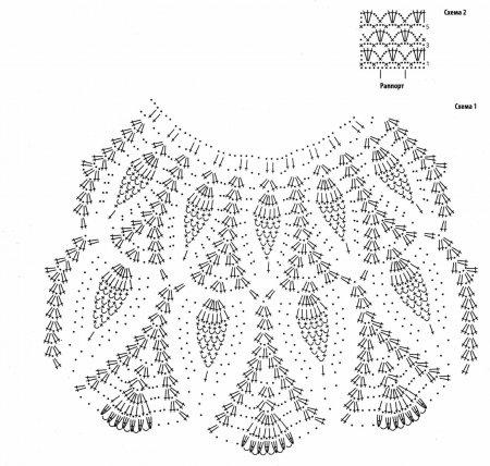 plate ananasy kryuchkom sxema - Вязаное платье крючком узором ананас