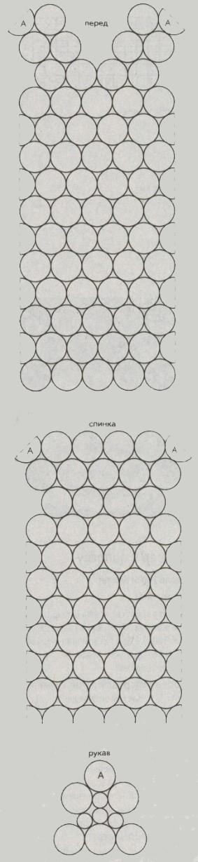 plate iz motivov krjuchkom shema - Вязаные платья крючком