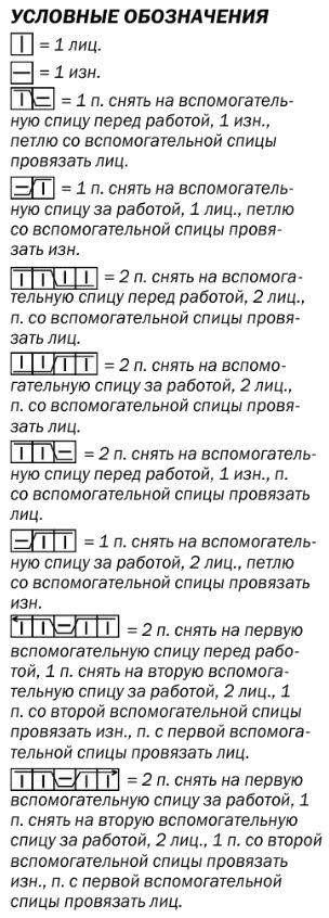 belyj muzhskoj sviter spicami shemy uslovnye oboznachenija - Вязаный мужской свитер спицами схемы с описаниями