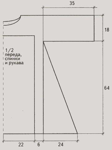 letnjaja tunika krjuchkom dlja polnyh vykrojka - Вязаная туника крючком схемы и описание