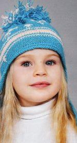shapka s ushkami spicami dlja devochki 150x280 - Вязаные шапки для девочек спицами со схемами и описанием