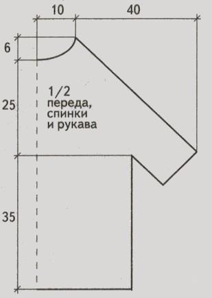 tunika kryuchkom dlya polnyx zhenshhin vykrojka - Вязаная туника крючком схемы и описание