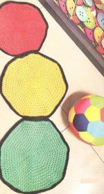 detskie kovriki kryuchkom 150x280 - Вязаные коврики крючком со схемами простые и красивые