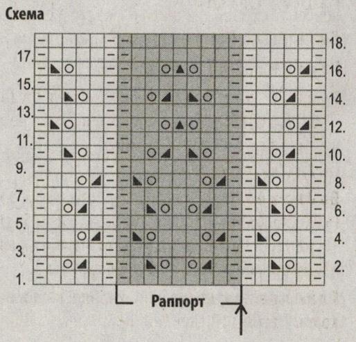 zhaket iz beloj prjazhi spicami shema - Вязаный белый жакет спицами