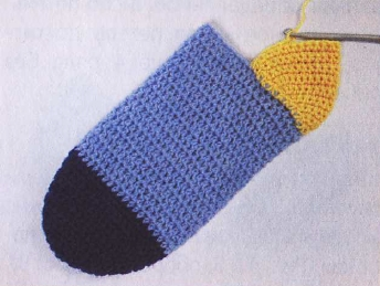 noski kryuchkom pjatka - Как вязать носки крючком?