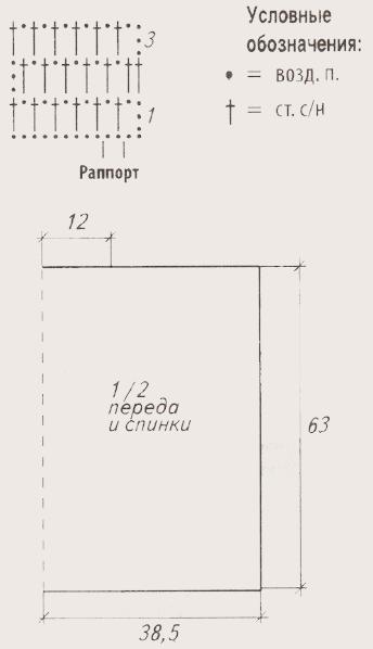 beloe poncho krjuchkom shema - Вязаное пончо крючком схемы и описание