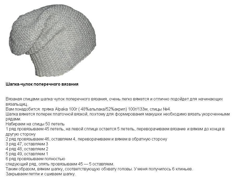 собрана как связать шапку пошагово с фото самых массовых противогазов
