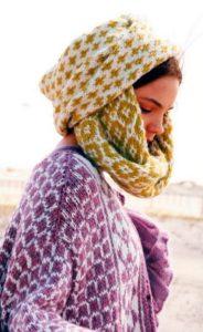 шарф петля