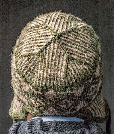 muzhskaya shapka spicami 2 - Мужские вязаные шапки спицами