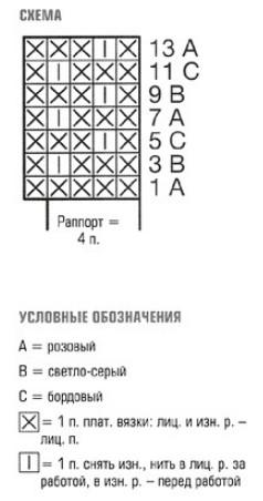 poncho s vorotnikom spicami 2 - Вязаное пончо с воротником спицами схемы и описание
